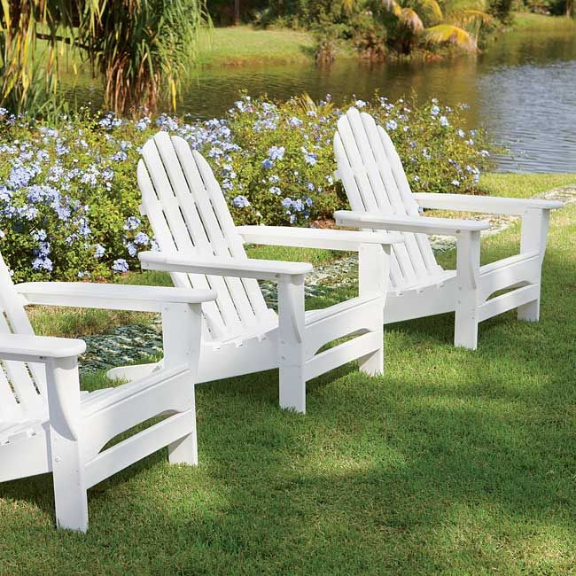 Just found this Adirondack Chairs - Never-Paint Adirondack Furniture -- Orvis on Orvis.com!