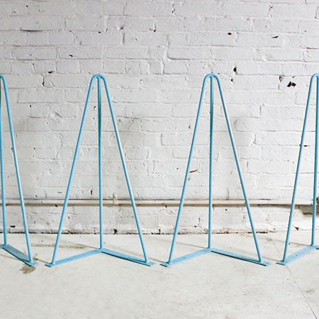 HomeMade Modern Trestle Table Legs, Powder Blue (Set Of 4) | To Buy |  Pinterest | Homemade Modern And Trestle Tables