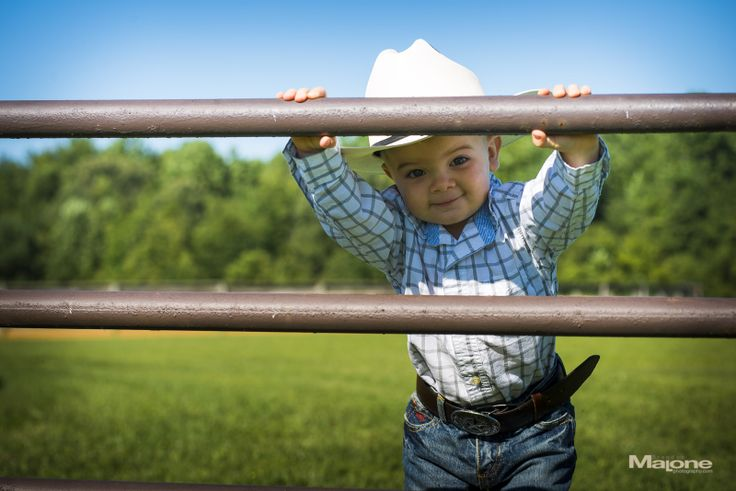 Cowboy toddler pictures