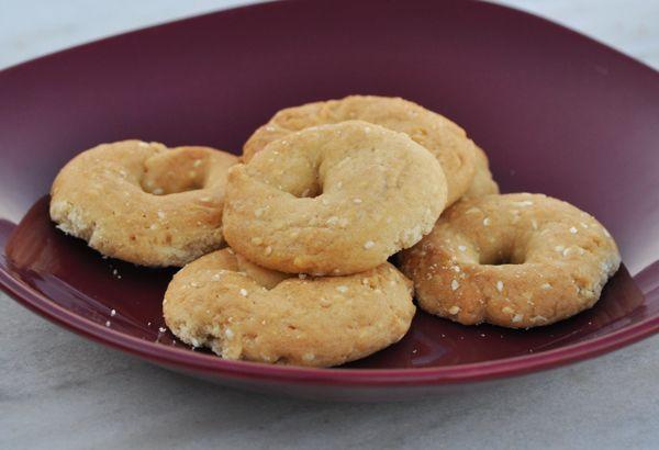 Κουλούρια νηστίσιμα με σουσάμι - Συνταγές Μαγειρικής - Chefoulis