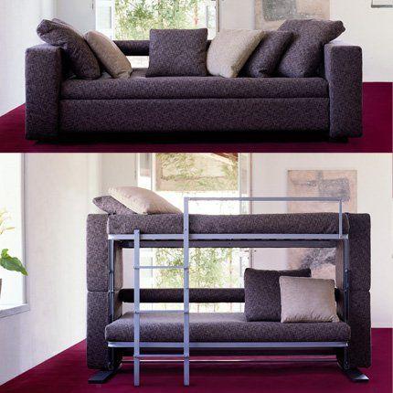 17 meilleures id es propos de lits superpos s canap sur for Bureau qui se transforme en lit