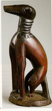 Shrine Figure of Dog late 19th century - early 20th century wood 16 x 7 x 8 in. (41 x 18 x 20 cm)   Southwestern Nigeria, Africa Culture or Group: Yorubapg (184×390)