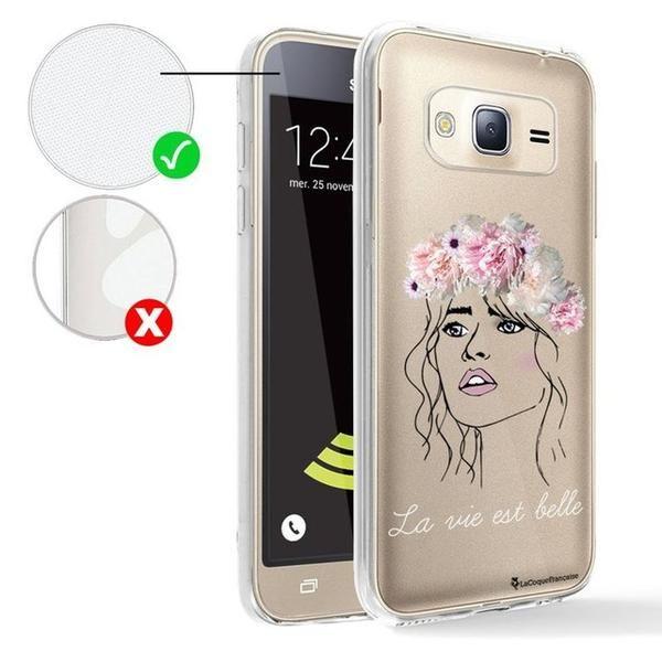 coque samsung j3 2016 deux transparent | Samsung j3, Samsung ...