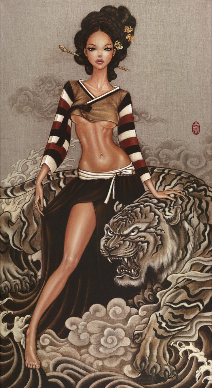 242 best fantasy art images on pinterest african beauty for Mimi lee chinese