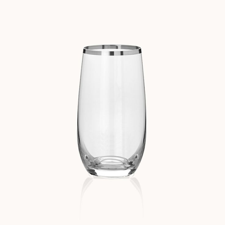 Gourmet Platinum Meşrubat Bardağı / Soft Drink Glass #bernardo #tabledesign