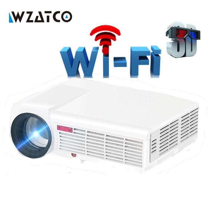 WZATCO 5500 Lumen Android Smart Wifi 1080P Full HD LED LCD 3D Video DVBT TV Projector portable Multimedia Home cinema Beamer. Model LED96 LED96WIFI Android None Android 4.4 Bluetooth None YES Storage None 1GB RAM+8GB ROM Wifi/Miracast/Airplay None YES,Support With TV Analog TV DVB-T TV   LED96 LED96WIFI Android, best offer