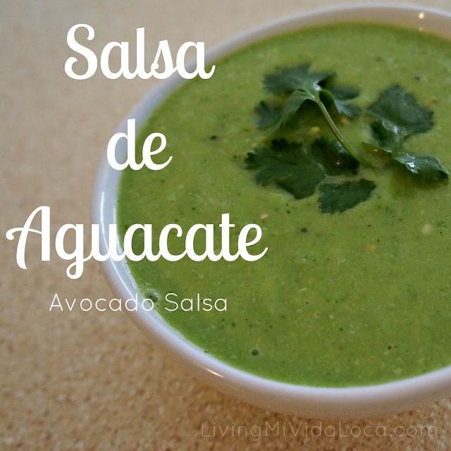 Living Mi Vida Loca: Salsa de Aquacate
