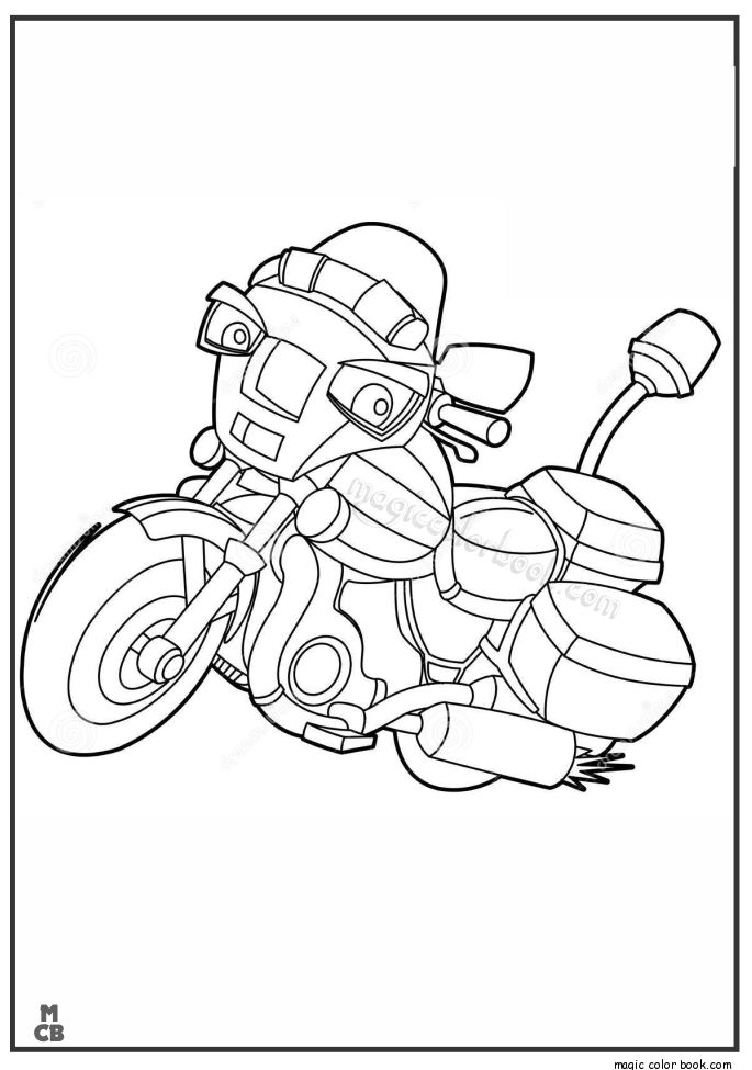 16 best Motorcycles Coloring Pages images on Pinterest