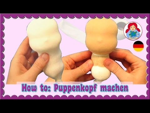 DIY | Augen und Mund sticken (Waldorfpuppe)| Klassische Sami Doll Anleitung | Teil 4 - YouTube