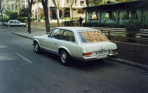 Frua Mercedes Benz 230 SL 'Pagode' Shooting Brake 1964.