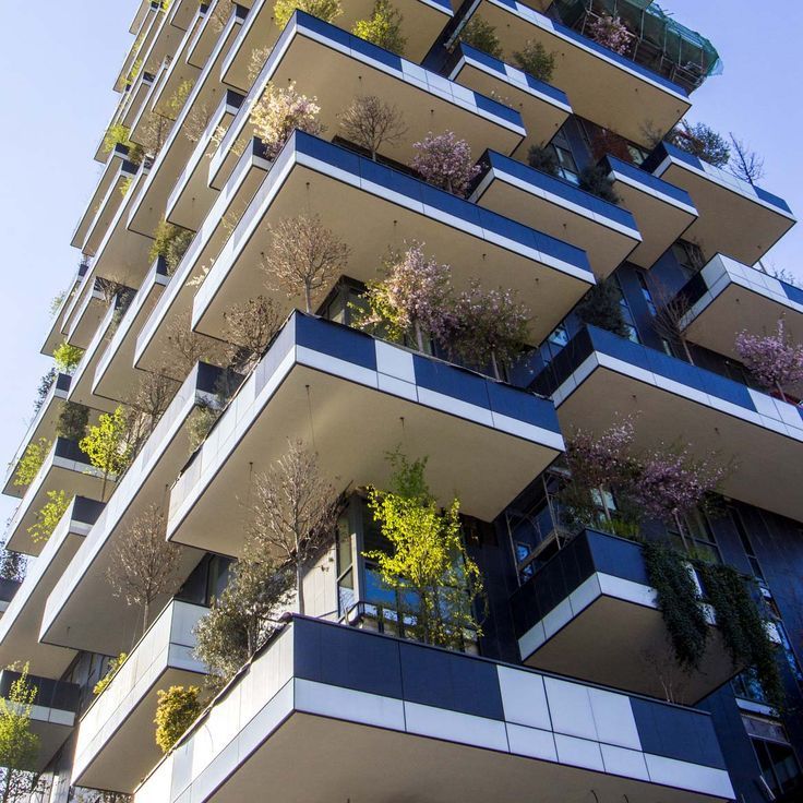 The International Highrise Award for Bosco Verticale #morfae   #arup   #highrise   #architecture