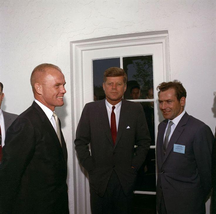 JFK and John Glenn