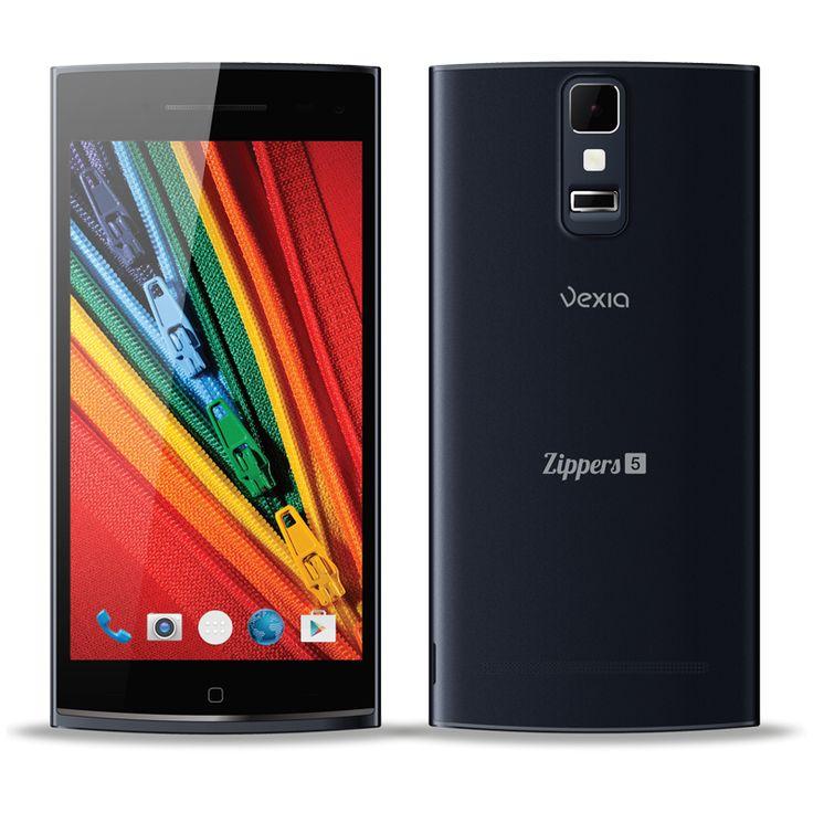 """Zippers Phone 5 Alta calidad y avanzadas prestaciones a tu alcance  Déjate sorprender por el smartphone más avanzado del mercado. Equipado con un potente procesador Octa Core, Sistema Operativo Android 4.4 y Dual SIM, sus infinitas prestaciones lo hacen único y diferente a todo lo que hayas probado hasta ahora. Su pantalla HD IPS OGS de 5"""" es ideal para gestionar todas sus aplicaciones. http://www.vexia.eu/es/"""