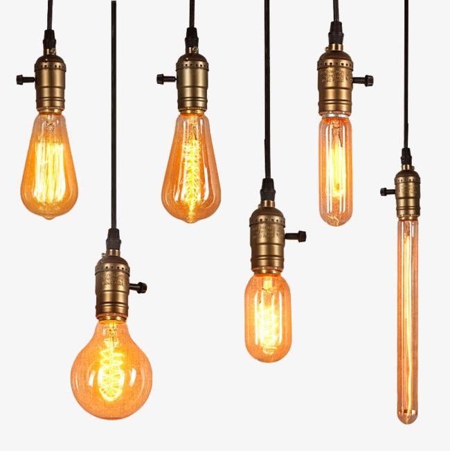 Lampada Lampada De Edison Fonte De Luz E27 Parafuso Retro Personalidade Criativa Lampada De Calor Lampada Incandescente Fonte Luz Imagem Png E Psd Para Downl Lampada De Edison Bulbo Lampada Retro