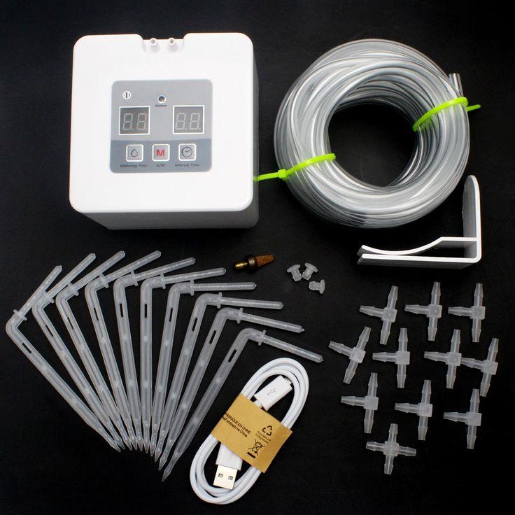 Diy Micro Automatic Drip Irrigation Kithouseplants Self 640 x 480