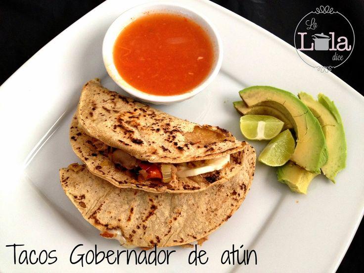 La Lola Dice: Tacos Gobernador de atún