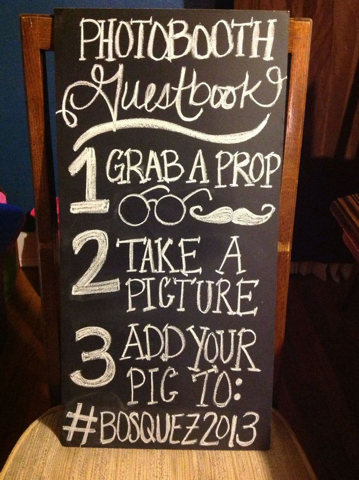 how to work a photo booth