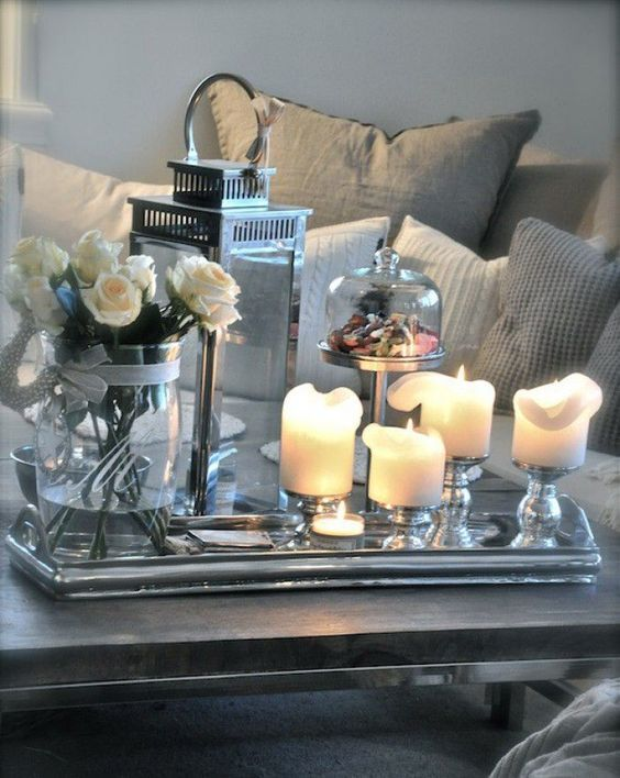 45 pretty decorating ways to style your coffee table home design rh pinterest com