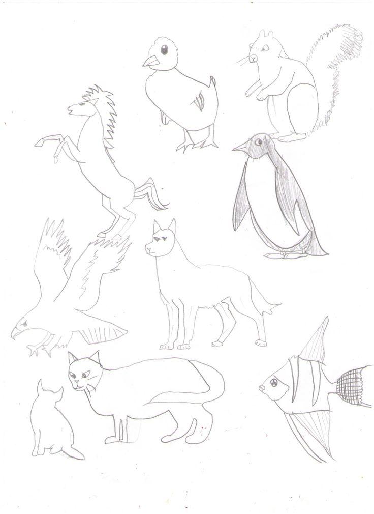 Meitar's copying animals. 2013.