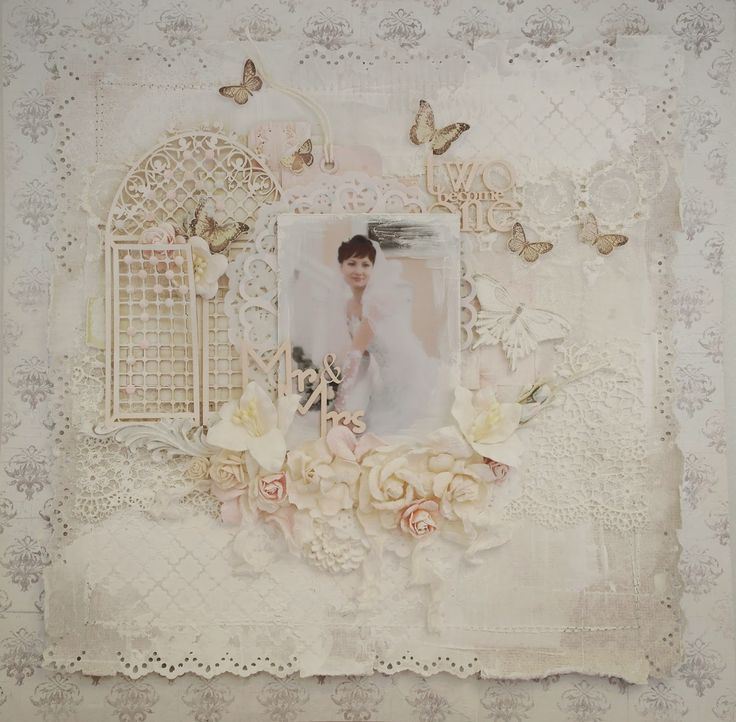 Из бумаги с любовью: Свадебное Шебби