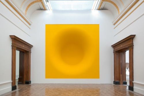 Anish Kapoor / Royal Academy of Arts / Yellow / Sculpture / 2009