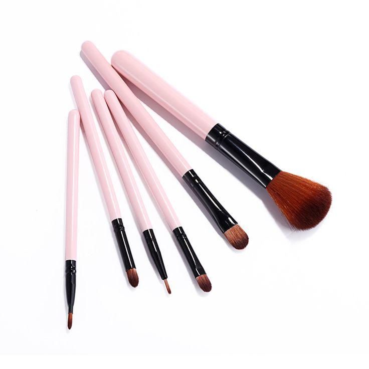 Meilleur Maquillage Brosses ensembles Surligneur Maquillage Brosse Pinceaux Professionnels Doux Ccosmetic Brush Set Rose Poudre Brosse