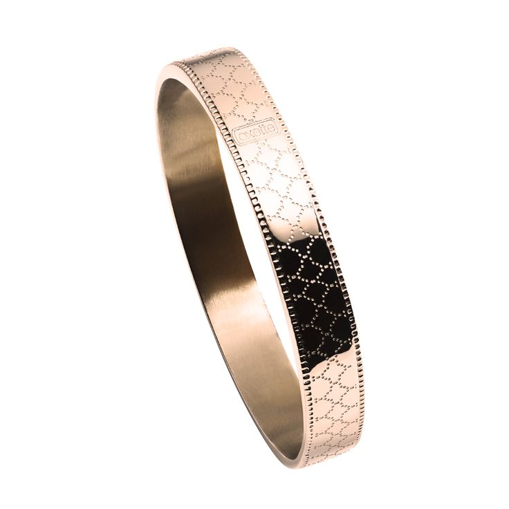 Oxette rose Gold plated Bracelet - Available here: http://www.oxette.gr/kosmimata/vrahiolia/bracelet-with-pattern-rose-gold-plated-164l-1/