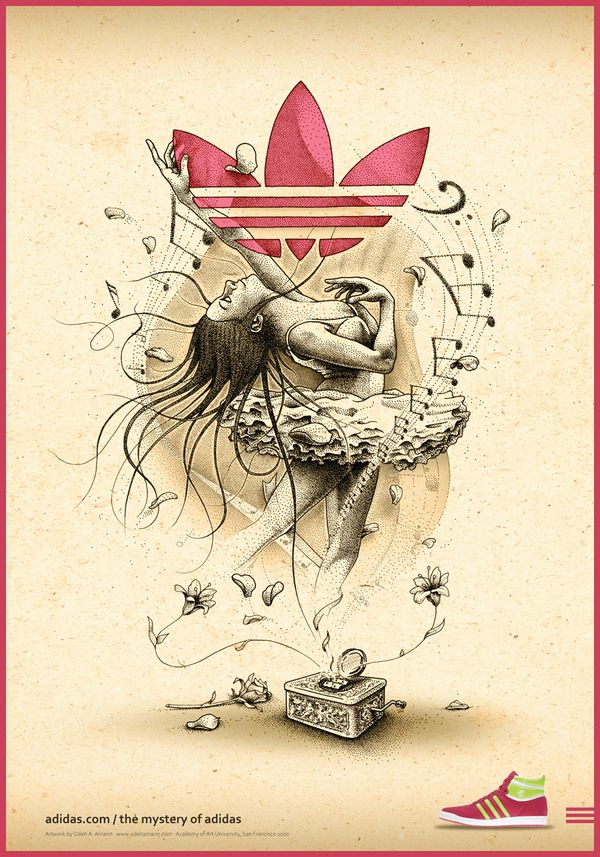The Mystery of Adidas by Odeh Amarin, via Behance