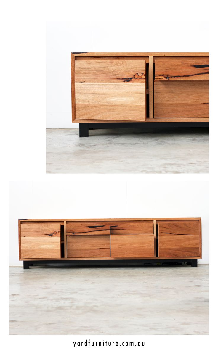 YARD Furniture Melbourne - Custom Console Units Custom Entertainment Units Custom Timber Furniture Hand Made in Melbourne