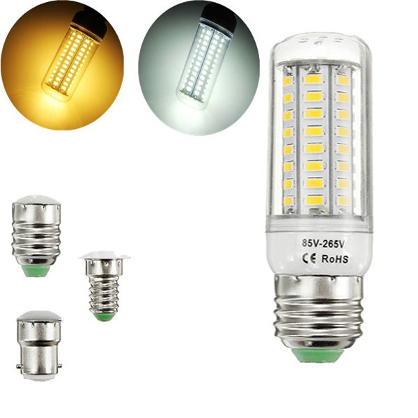 E27 E14 B22 5w 11w Smd 5730 High Bright Pure White Warm White Led Corn Light Bulb Ac110 265v With Images Light Bulb Bulb Pure Products