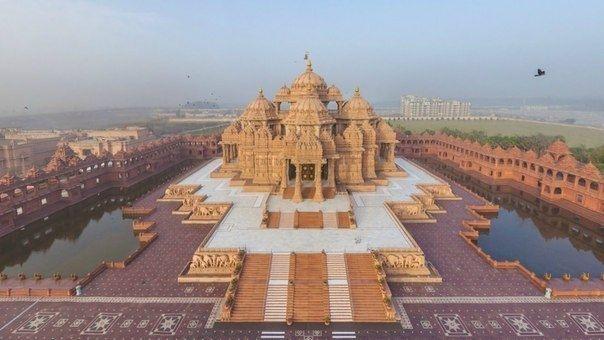 Индуистский храм Акшардхам в Дели, Индия - Путешествуем вместе