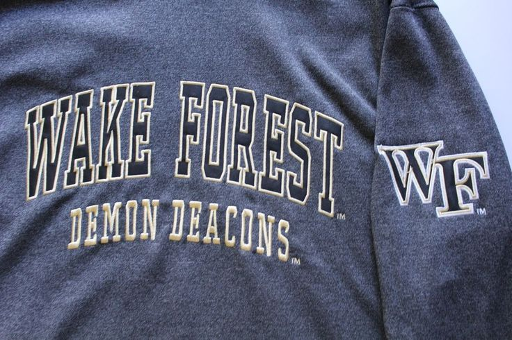 Men's Wake Forest Demon Deacons NCAA Colosseum Hoodie Hooded Sweatshirt Size Med #ColosseumAthletics #WakeForestDemonDeacons