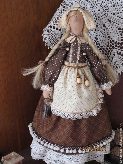 Куклы Тильды ручной работы. Гретхен - кофейная девочка .. Екатерина Ваколя .. Ярмарка Мастеров. Кофейная фея, кофейный ангел