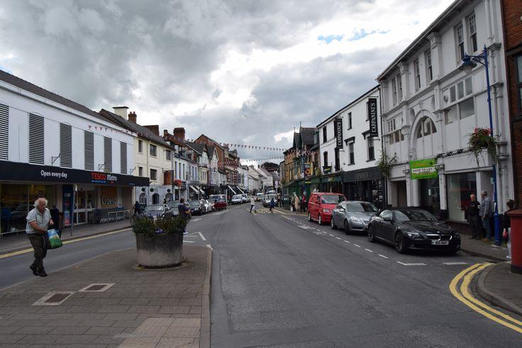 Street in Abergavenny