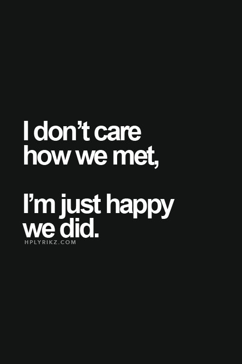 happy we met quotes