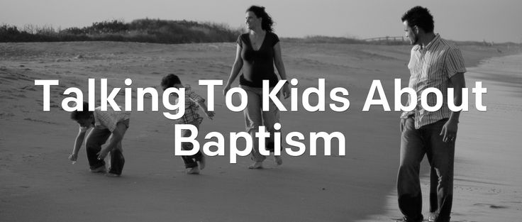 """Mom, what are they doing with those pools of water?""Being the primary spiritual influence in our children's lives is a big responsibility. These are the conversations we pray for, but when the opportunities come, figuring out where"