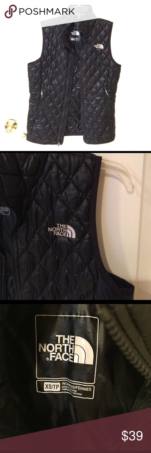 The North Face black vest size XS The North Face black vest, gently used. The North Face Jackets & Coats Vests