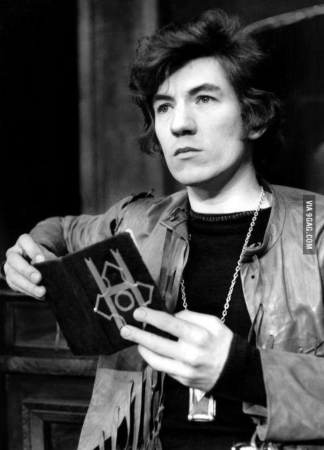 This is young Ian McKellen (Gandalf)