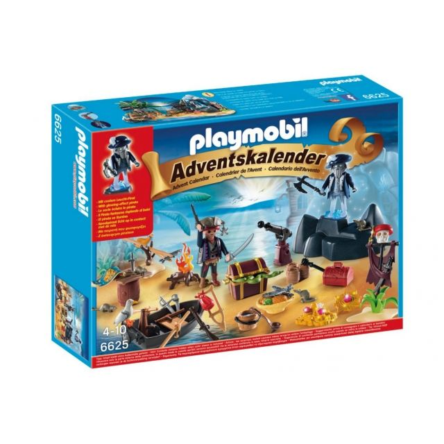 PLAYMOBIL Adventskalender 6625 Geheimnisvolle Piratenschatzinsel
