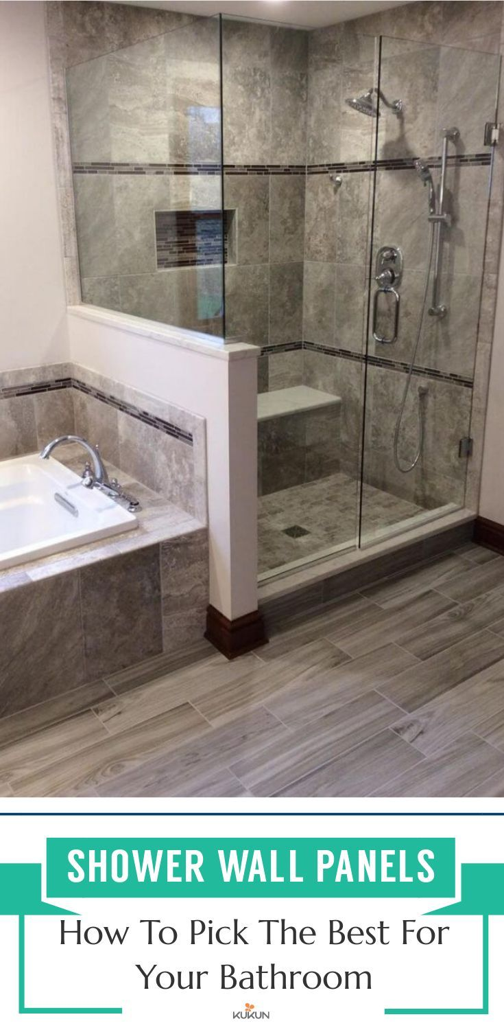 Shower Wall Panels Guide To Choosing The Best For Your Bathroom Shower Wall Panels Shower Wall Bathroom Shower Walls