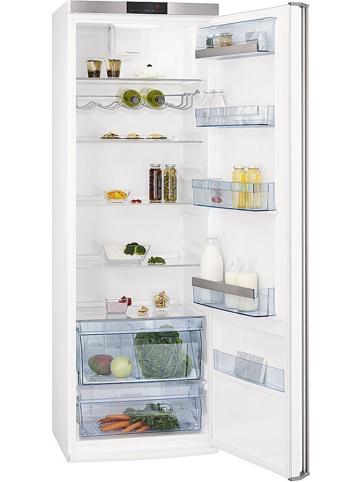 Husqvarna QR2460W kylskåp. Stor kyl med plats för mycket.