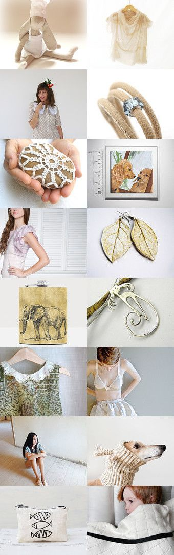 Cream by maya ben cohen on Etsy--Pinned with TreasuryPin.com