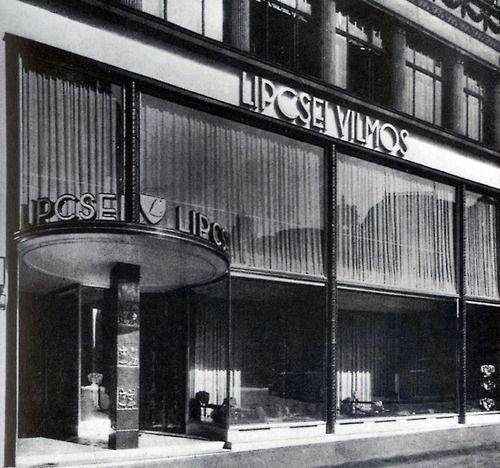 wmud:  györgy koródy - storefront on kigyó street, budapest, 1939
