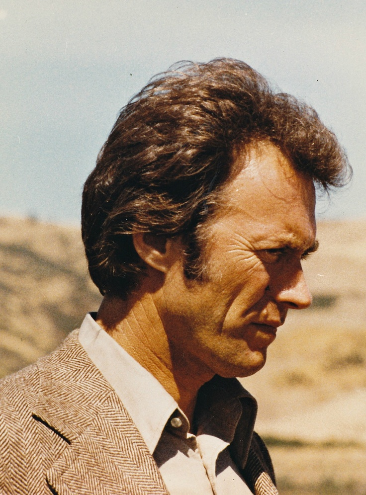 Clint Eastwood photographed on the set of Magnum Force, 1973.