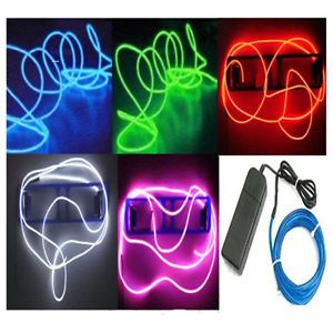 Neon-LED-Light-Glow-EL-Wire-String-Strip-Rope-Tube-Car-Dance-Party-Controller