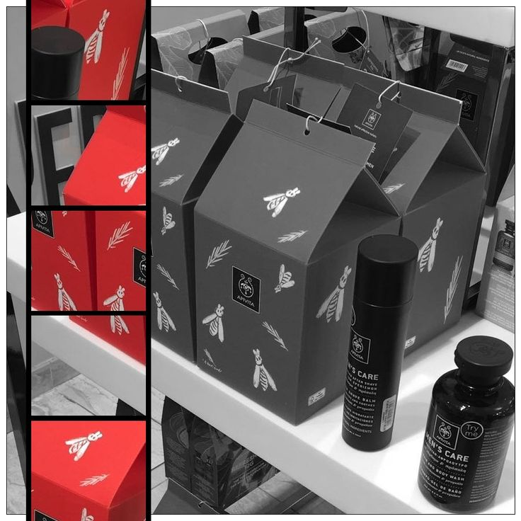 We are very excited that our Packaging designs for Apivita are showcased right now in London! The pictures are taken from John Bell & Croyden, 54 Wigmore St, Marylebone, London W1U 2AU, UK. #packaging #stema #stemaconsulting #london #uk #apivita #giftbox #johnbellcroyden #shop #greekbusiness #greekagency #greekdesign #red #black #mencare #naturalcosmetics #packagingdesign