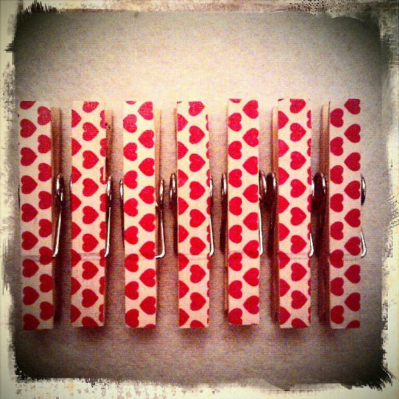 Magnetic pegs made with love heart tape  set of 7 by loulalacrafts, $7.50Heart Tape, Crafty Stuff, Handmade Items, Crafts Ideas Diy, Love Heart, Magnets Peg, Crafts Idease Diy, Tape Sets, Arty Crafty