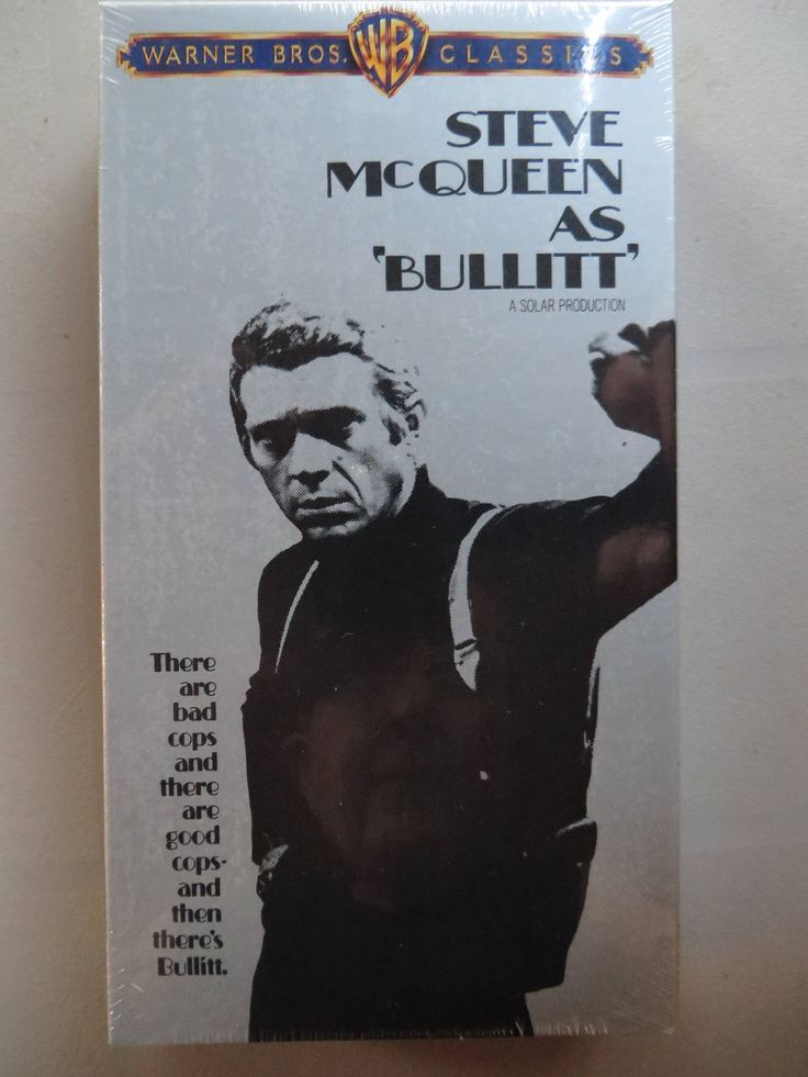 Excited to share the latest addition to my #etsy shop: Brand New Sealed ' Bullitt ' Vintage VHS 1968 Movie - 1998 Warners Brothers Release - Steve McQueen - Robert Vaughn - Old New Stock http://etsy.me/2iWXXQS #everythingelse #birthday #christmas #newvhstape #oscarwinningmov
