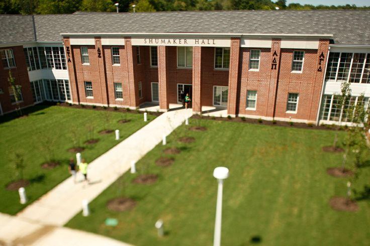 Dianne C. Shumaker Hall Exterior, Campus, Tours