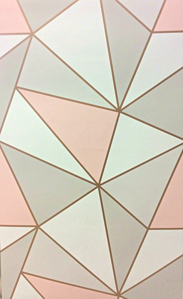 Apex Geometric Rose Gold In 2019 Ideas For My Room Girls Bedroom